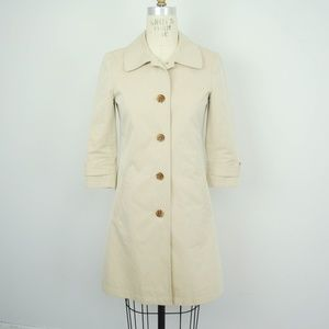 Gryphon Trench Coat Single Breasted